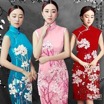 苏州复古手工旗袍定制秋季加厚新款修身显瘦版时尚与复古的完美结合