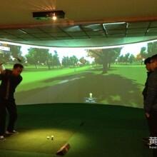 美国高速摄像室内高尔夫模拟器