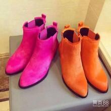 鞋子工厂专业定做高端时尚欧美女靴加工