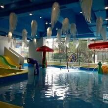承接大型儿童室内戏水池室内水中游乐场儿童游泳池亚克力泳池