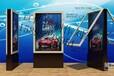 菏泽公交候车亭、公交站台、镀锌钢板、不锈钢广告牌