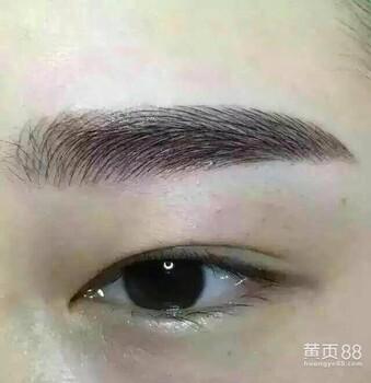 长沙纹眉如何洗掉纹眉如何洗掉
